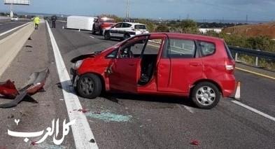 إصابات جرّاء حادث طرق قرب قيساريا
