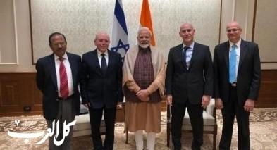 مستشار الأمن القومي يعود من زيارة للهند