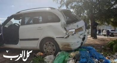 طمرة: حادث طرق على مدخل المدينة يسفر عن إصابتين