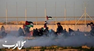 غزة: 4 إصابات في الجمعة الـ43 من مسيرات العودة