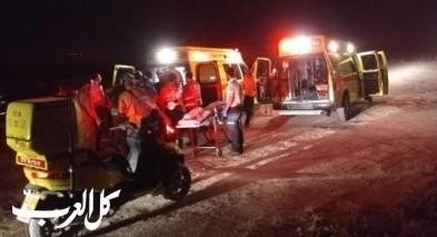 ابو سنان: اصابة شابة بعد سقوطها عن حصان