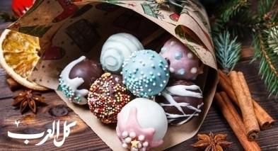 طريقة تحضير كرات الكيك بالشوكولاتة