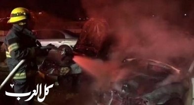 عكا: اندلاع حريق داخل سيارة دون اصابات