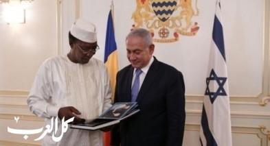 استئناف العلاقات الدبلوماسية بين اسرائيل وتشاد