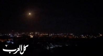 الجيش الاسرائيلي: ضرب أهداف لفيلق القدس الإيراني والجيش السوري داخل الأراضي السورية