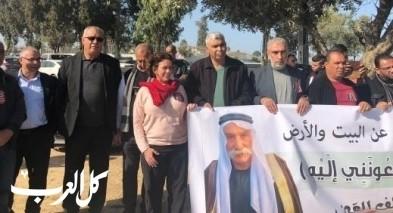 وقفة إحتجاجية امام سجن الرملة تضامنا مع الطوري