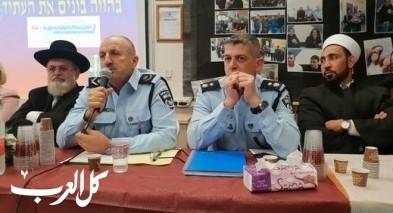 عكا: لقاء بمشروع للشرطة بمدرسة أورط