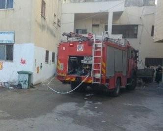 عرابة: تماس كهربائي كاد أن يؤدي لحريق