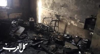 أبو عرار: إحراق قسم الجباية بعرعرة النقب عمل جبان