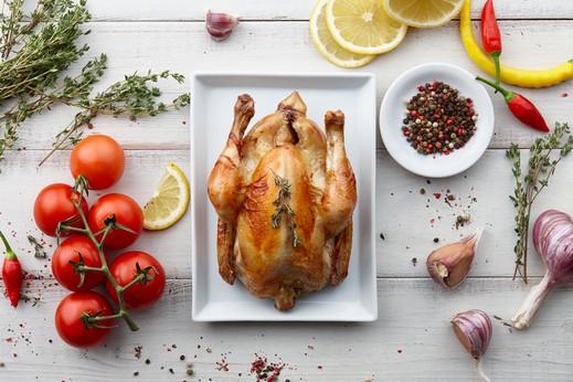 طبق اليوم: دجاج مشوي بالليمون