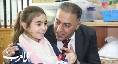 رئيس مجلس كفرقرع يفتخر بمدرسة الحوارنة