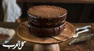كعكة ترافل الشوكولاطة الفاخرة..صحتين