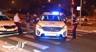اعتقال مشتبه بسرقة سيارة من نتانيا والتسبب بحادث طرق