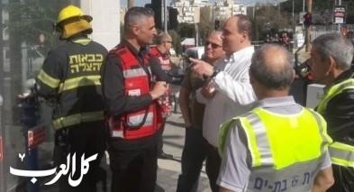 تمرين طوارئ لسلطة الإطفاء والإنقاذ ببات يام