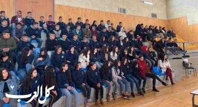 محاضرة تفاعلية مع لطلاب اعدادية الرازي في اكسال