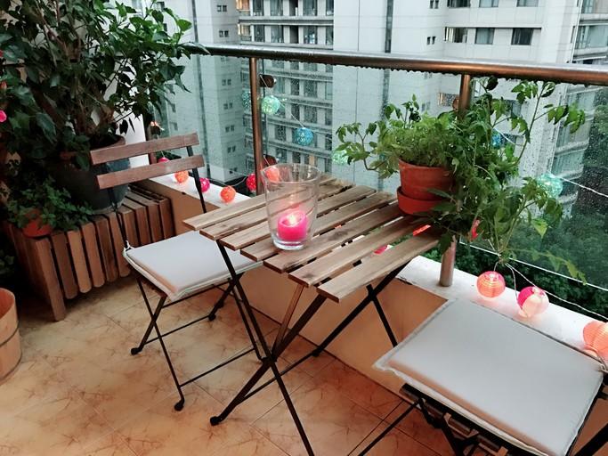 ديكورات وأفكار رائعة لشرفة المنزل..صور