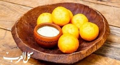 كرات الجبن بالبطاطا.. لسفرة شهية ومميزة