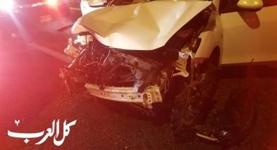 اصابة 4 اشخاص بحادث طرق على مفرق هموفيل