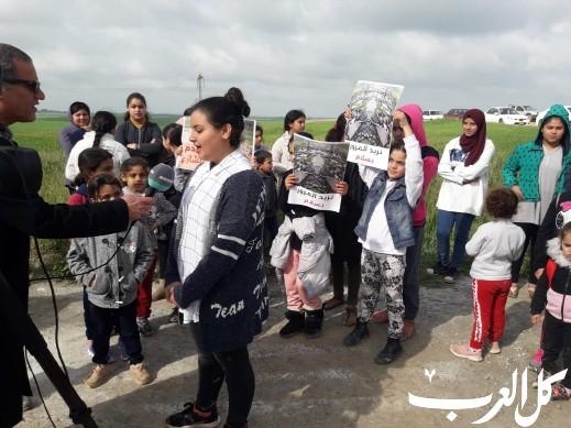 قرية الزيادنة بالنقب: اضراب مفتوح ومظاهرة