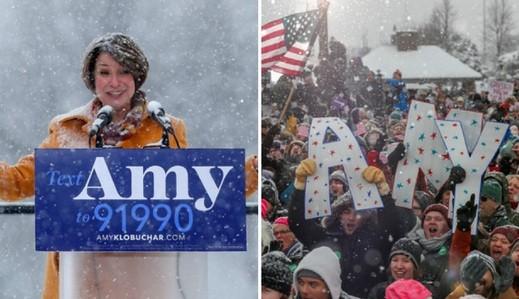 إيمي كلوبوشار تنافس ترامب في الانتخابات