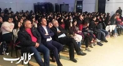 محاضرة بعنوان الأمان على الطرق لثانوية دير الاسد