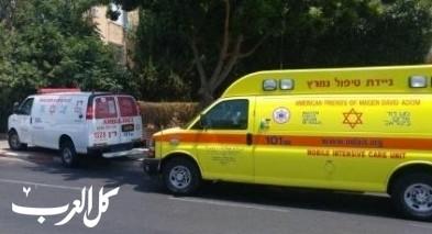 طبريا: إصابة متوسطة لرجل إثر تعرضه للدهس