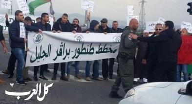اعتقال 5 مواطنين من جديدة المكر خلال تظاهرة