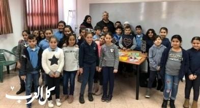 نادر أبو تامر يُحاضر بمدرسة مرشان بشفاعمرو