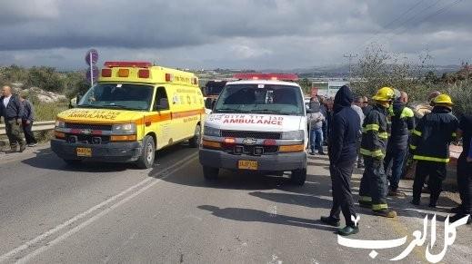 5 إصابات في حادث طرق على طريق القدس اريحا