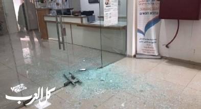 عبلين: اعتداء على عيادة صندوق المرضى لئوميت