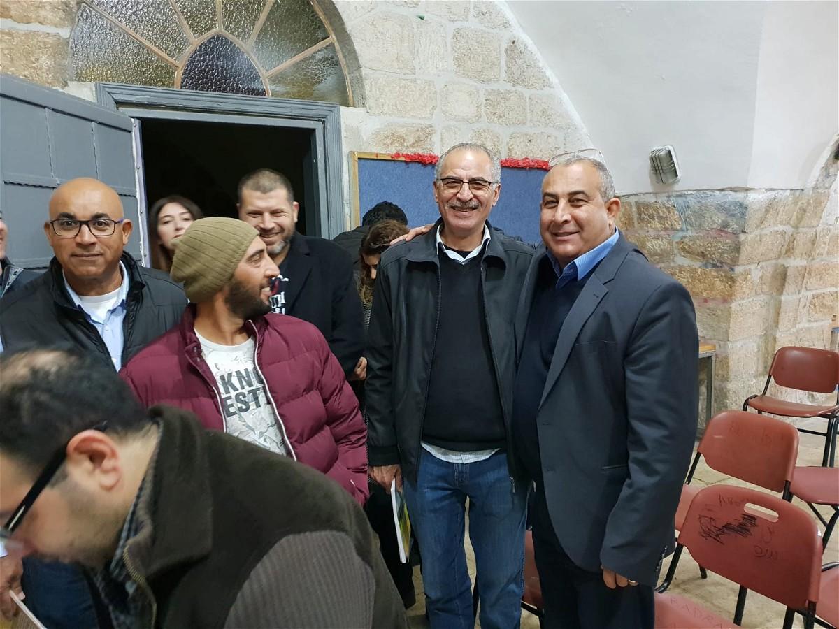 اشهار كتاب جولات في ظلال فلسطينية لمصطفى كبها