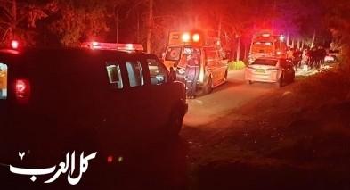 اصابة شاب من كابول بجراح خطيرة بحادث في احراش شفاعمرو