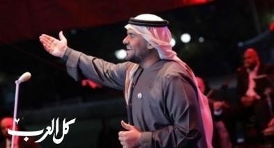 حسين الجسمي يحتفل بعيد الكويت الوطني