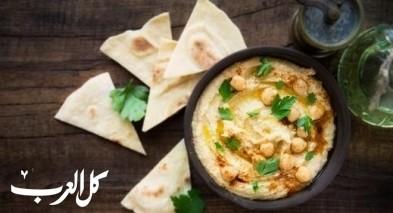 حمص بالبقدونس على طريقة المطبخ اللبناني
