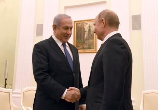 نتنياهو يلتقي الرئيس الروسي في الكرملين