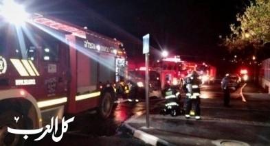 طوبا الزنغرية: اندلاع حريق في روضة