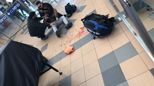 رجال أمن يعتدون على جندي عربي ببئرالسبع