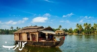 اماكن سياحية في كيرالا الهندية الجميلة