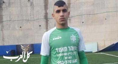 اللاعب محمد مصطفى نخاش يقود دفاع شبيبة الاخاء