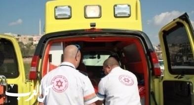إصابة خطيرة بحادث طرق قرب عين حارود