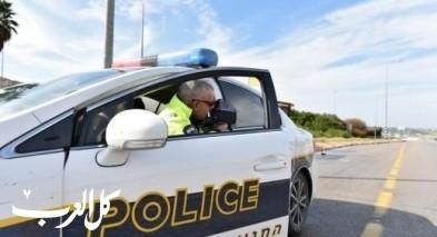 سحب 168 رخصة قيادة خلال نهاية الأسبوع