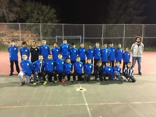 حفل تدشين فريق كرة القدم بقرية عين رافا