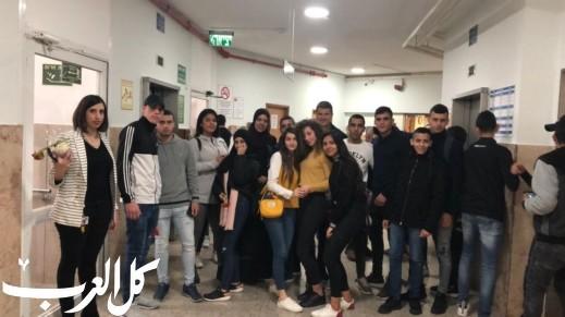الناصرة: مبادرة انسانية لثانوية خالد سليمان