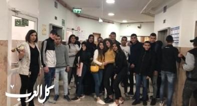 طلاب العاشر في الثانوية بزيارة للمستشفى الانجليزي