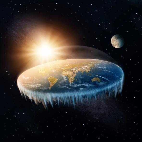 يوتيوب يروّج لنظرية الأرض المسطحة