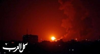 طائرات الجيش الاسرائيلي تقصف عدة اهداف في غزة