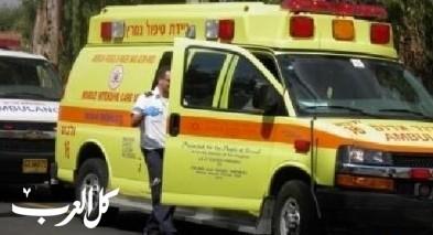 نتانيا: إصابة سيدة أثر تعرضها للدهس