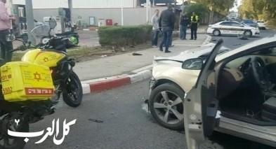 حيفا: إصابة خطيرة في حادث طرق