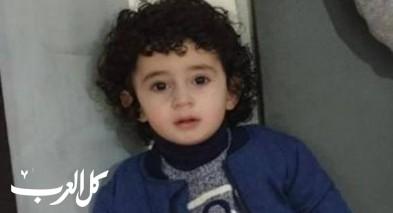 وفاة الطفل زين مالك محمد قراعين من بلدة سلوان
