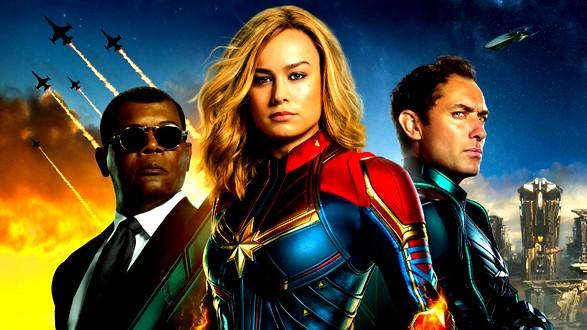 فيلم Captain Marvel في الصدارة